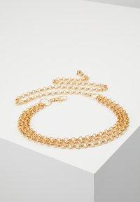 Gina Tricot - JANE CHAIN BELT JULI - Tailleriem - gold-coloured - 0