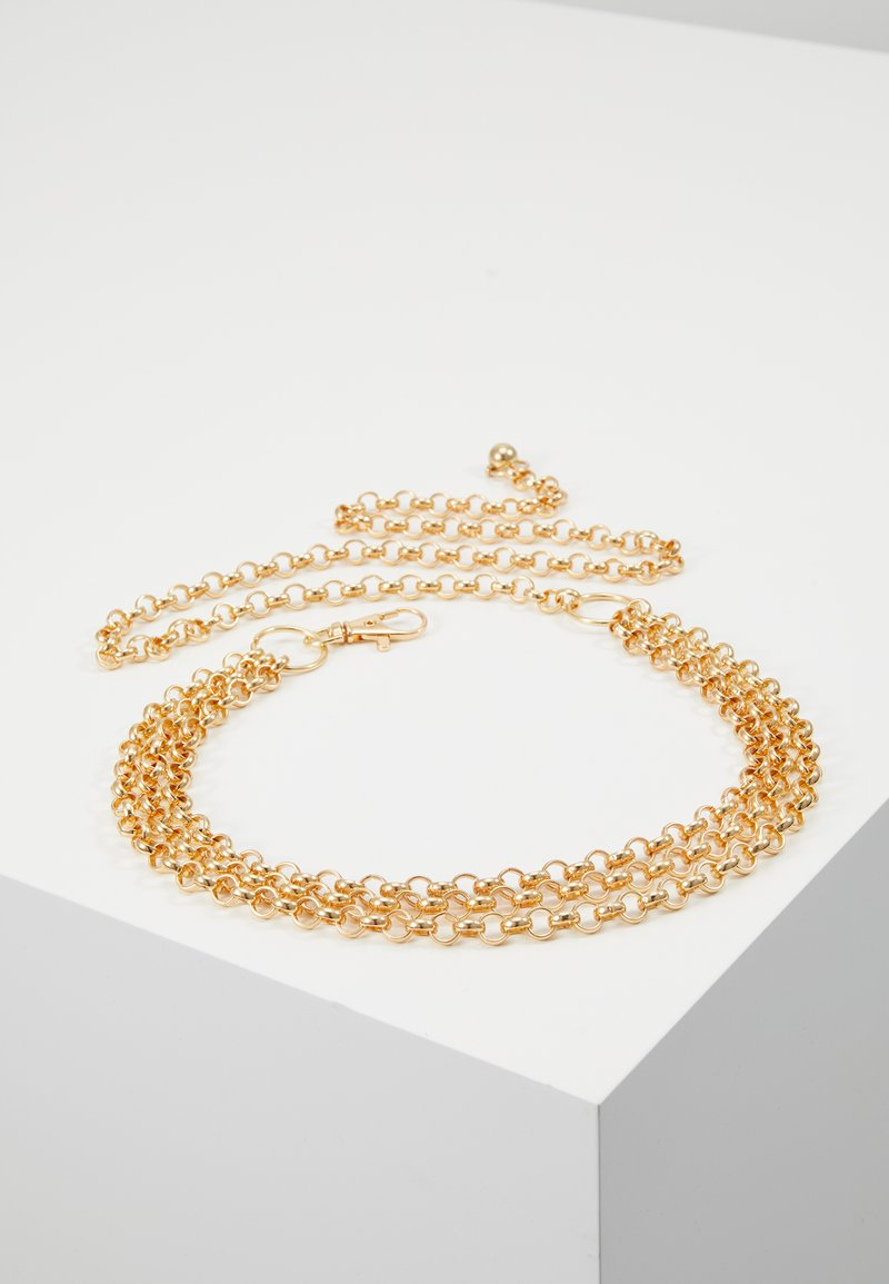 Gina Tricot - JANE CHAIN BELT JULI - Taillengürtel - gold-coloured