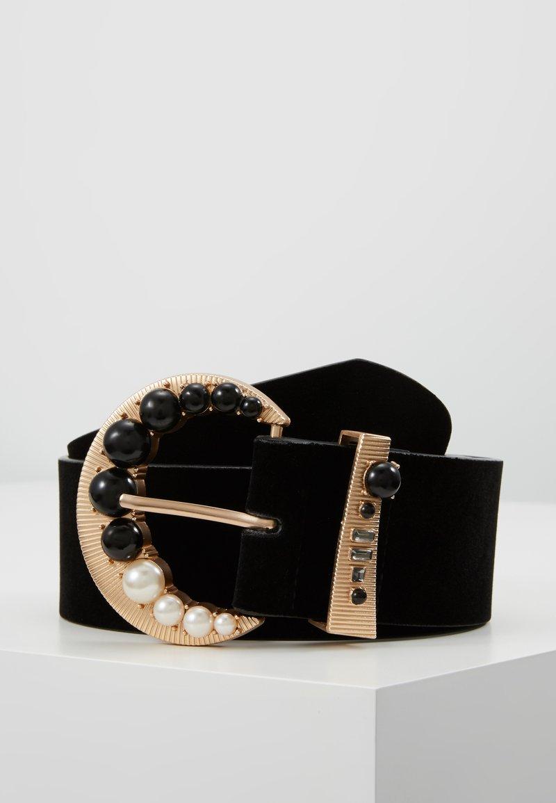 Gina Tricot - MATILDA BELT - Taillengürtel - gold-coloured/black