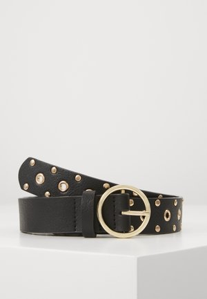SIENNA BELT - Riem - black/gold-coloured