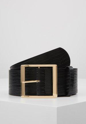 SUS BELT - Midjebelte - black/gold