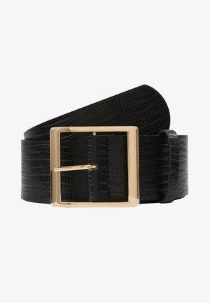 SUS BELT - Tailleriem - black/gold