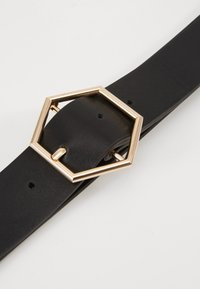 Gina Tricot - ANDIA BELT - Belte - black/gold-coloured - 2