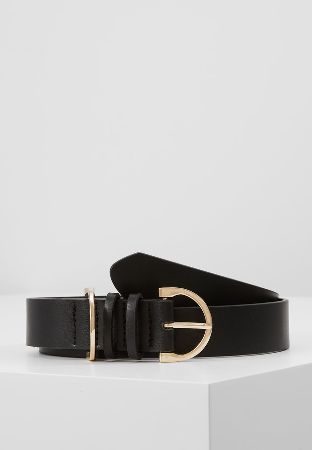 TANKI BELT - Belt - black/gold-coloured