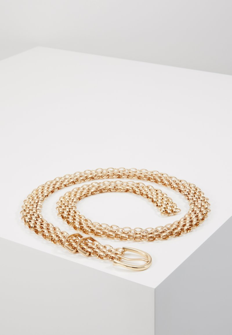 Gina Tricot - LINDA CHAIN BELT - Cinturón - gold-coloured
