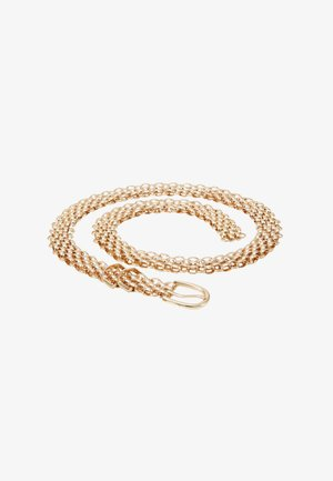 LINDA CHAIN BELT - Pasek - gold-coloured
