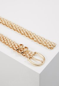 Gina Tricot - LINDA CHAIN BELT - Cinturón - gold-coloured - 2