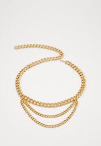 Gina Tricot - LISA CHAIN BELT - Riem - ligth gold-coloured - 0