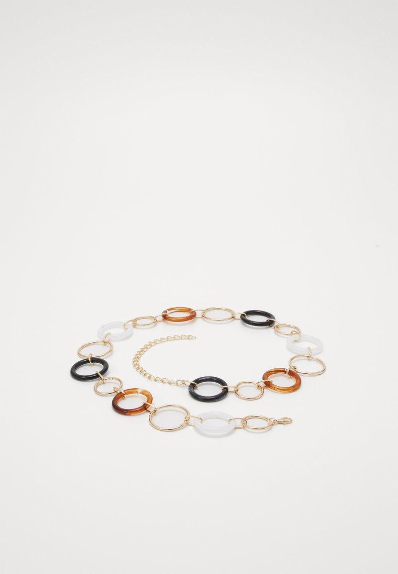 Gina Tricot - BELLA CHAIN BELT - Waist belt - gold-coloured