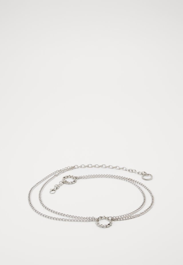 NELLA CHAIN BELT - Gürtel - silver-coloured