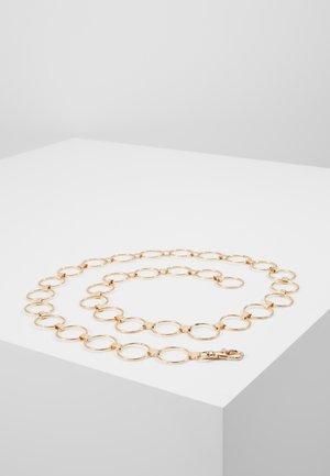 REBECCA CHAIN BELT - Belte - gold-coloured
