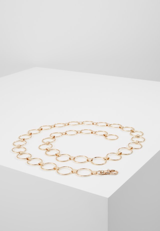 REBECCA CHAIN BELT - Riem - gold-coloured