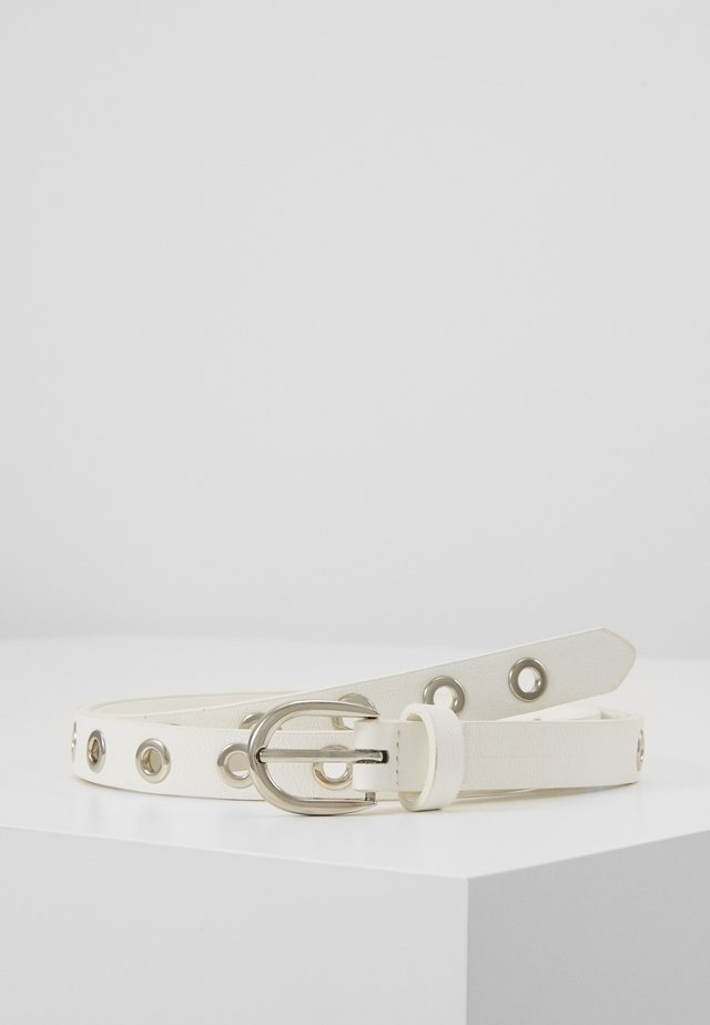 GRETA BELT - Belt - white