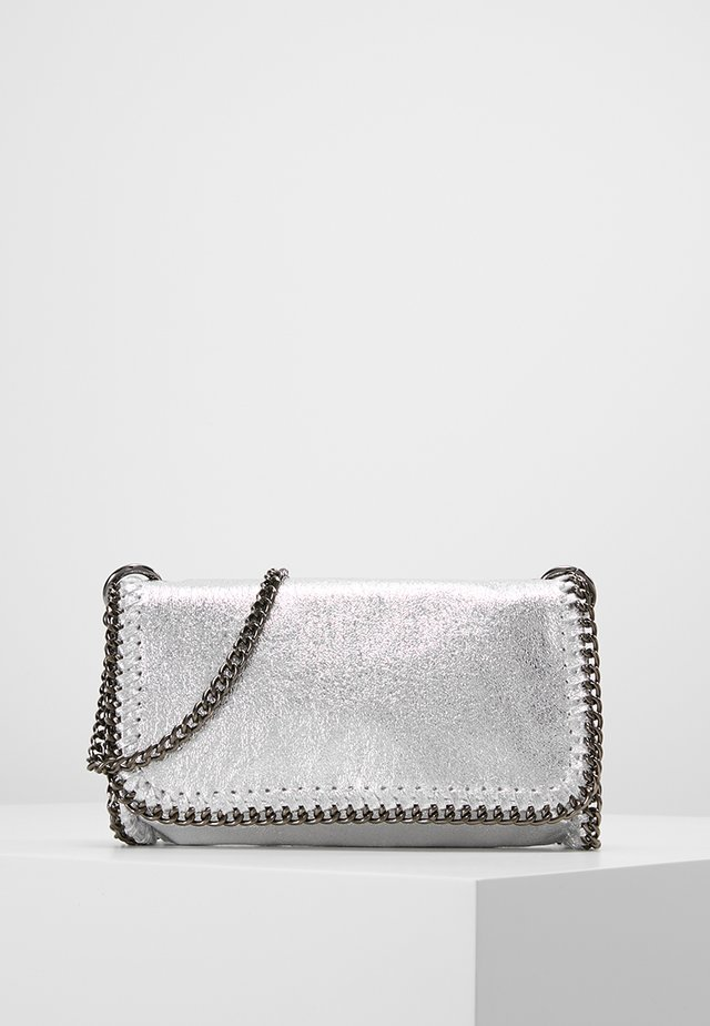 MALVA - Across body bag - silver