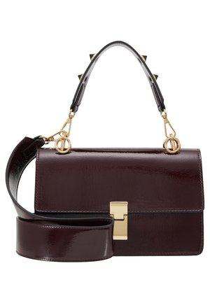 JONNA BAG - Handbag - wine patent