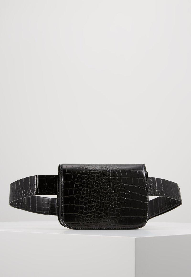 Gina Tricot - LOVELIA WAIST BAG - Bum bag - black