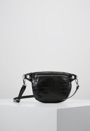 TINA WAIST BAG - Ledvinka - black
