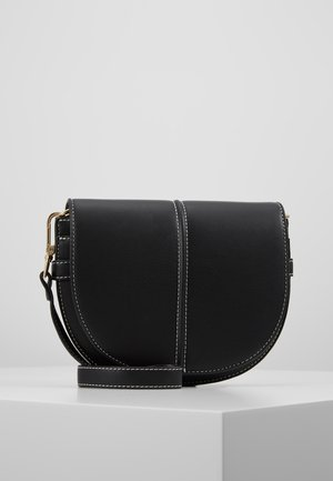 HANNA BAG - Schoudertas - black