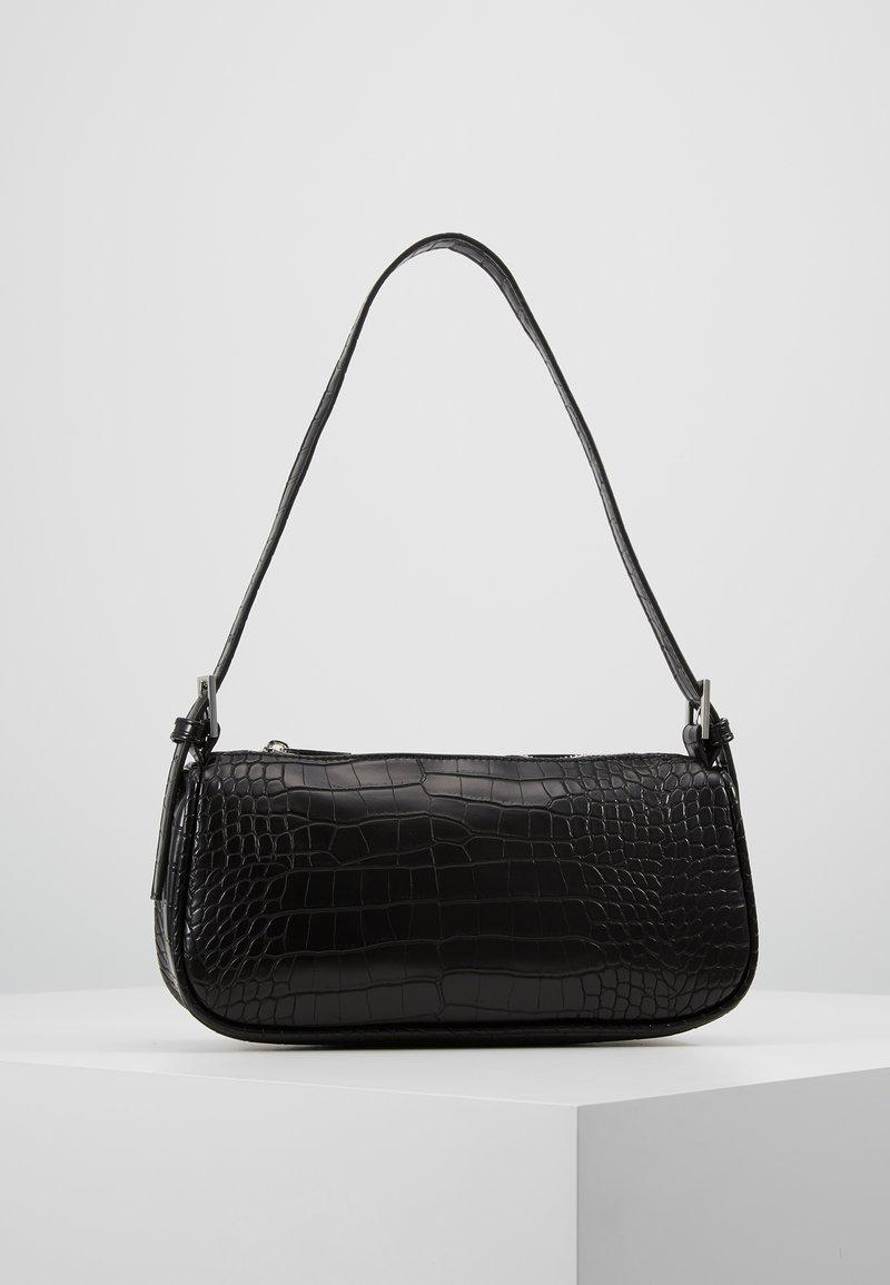 Gina Tricot - AMELIE BAG - Bolso de mano - black/silver