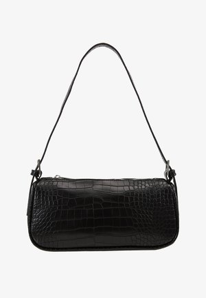 AMELIE BAG - Handtasche - black/silver