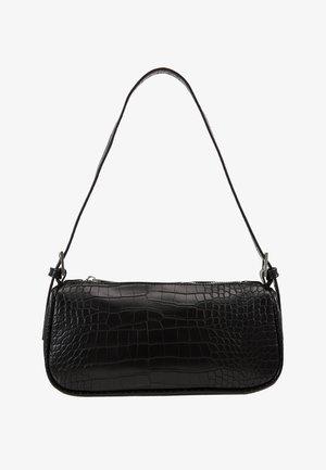 AMELIE BAG - Käsilaukku - black/silver