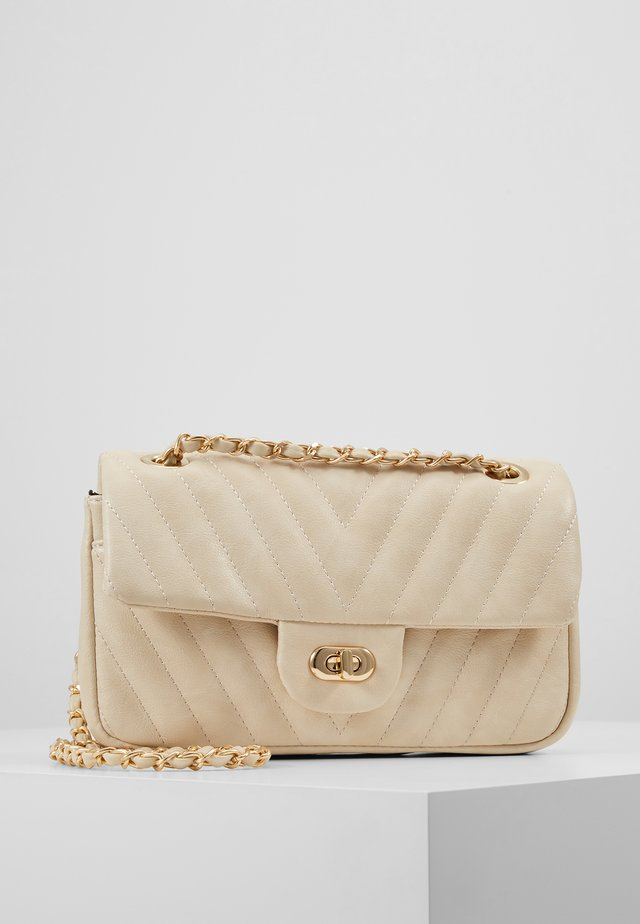 ALINA - Across body bag - beige