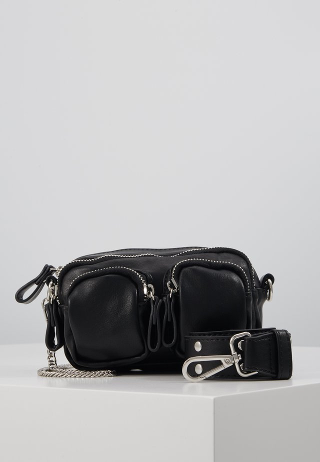 CONNIE MINI BAG - Handtas - black/silver