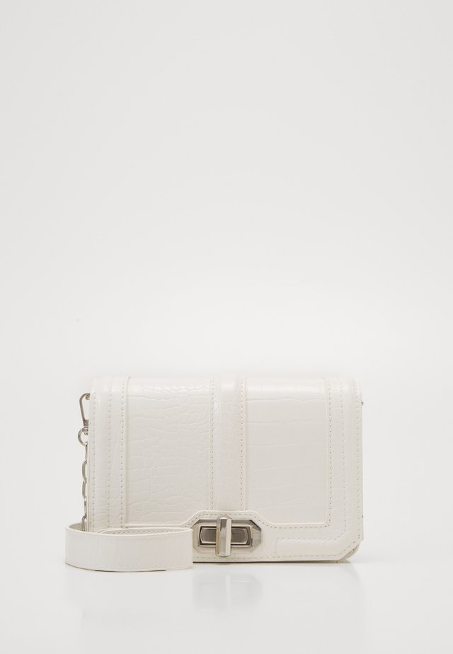 JENNI CROCO BAG - Sac bandoulière - white