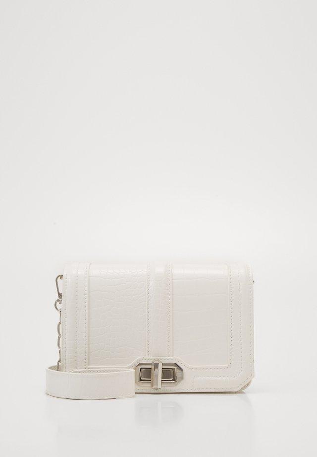 JENNI CROCO BAG - Across body bag - white