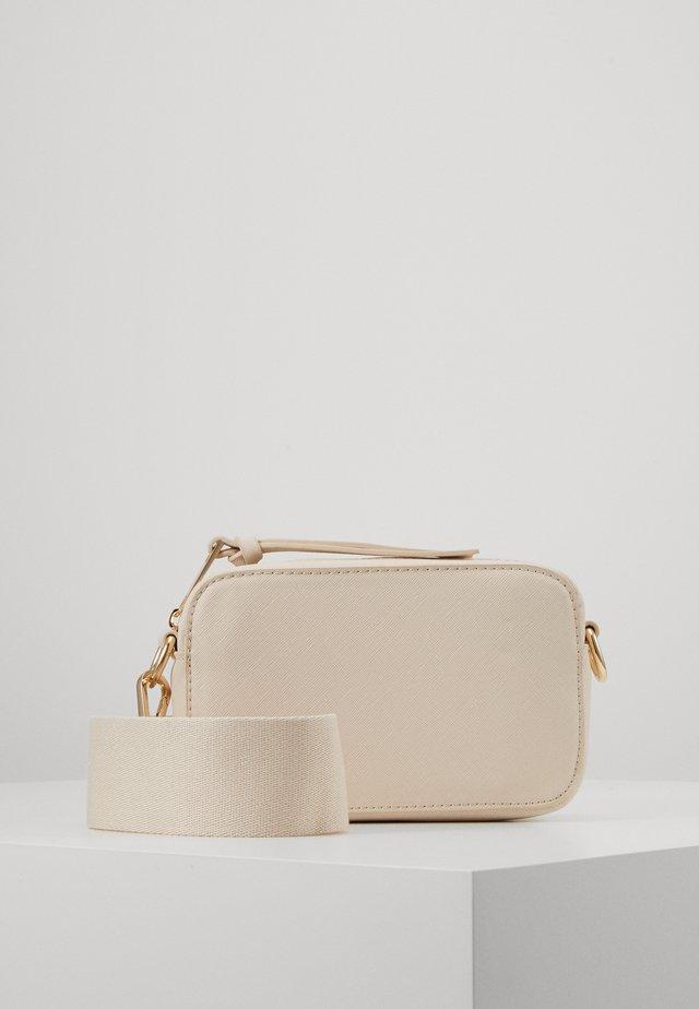 JANE BAG - Taška spříčným popruhem - beige