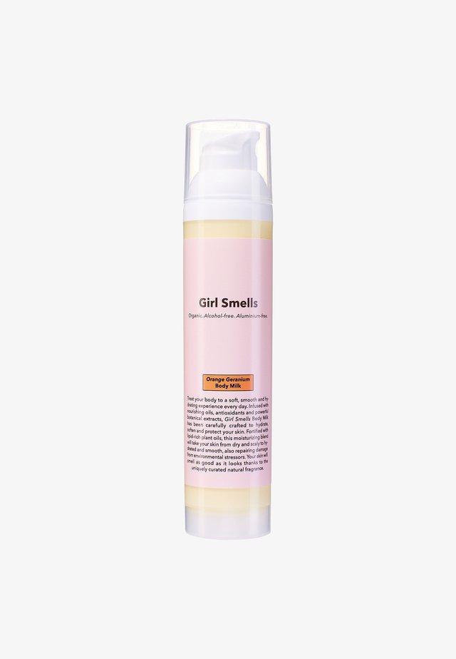 BODY MILK 100ML - Fugtighedscreme - orange geranium