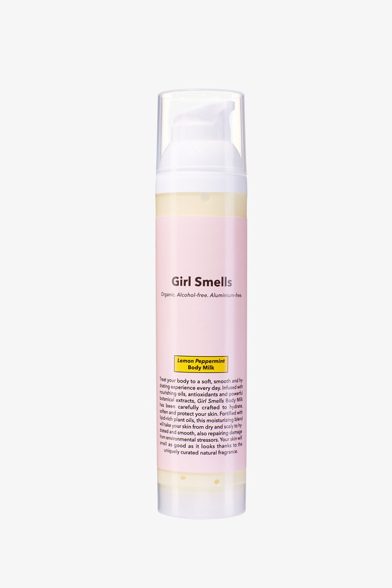 Girl Smells - BODY MILK 100ML - Moisturiser - lemon peppermint