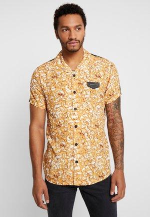 BAROQUE EXCESS SHIRT WITH RIBBON - Shirt - yellow