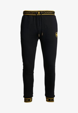 BACK JOGGERS  - Verryttelyhousut - black