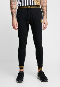 Gianni Kavanagh - BACK JOGGERS  - Tracksuit bottoms - black - 0