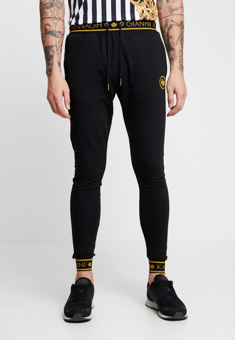Gianni Kavanagh - BACK JOGGERS  - Tracksuit bottoms - black