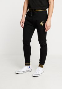 Gianni Kavanagh - FUSION - Tracksuit bottoms - black - 0
