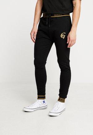FUSION - Pantalones deportivos - black