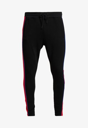 BLACK RACER BLOCK JOGGERS - Teplákové kalhoty - black