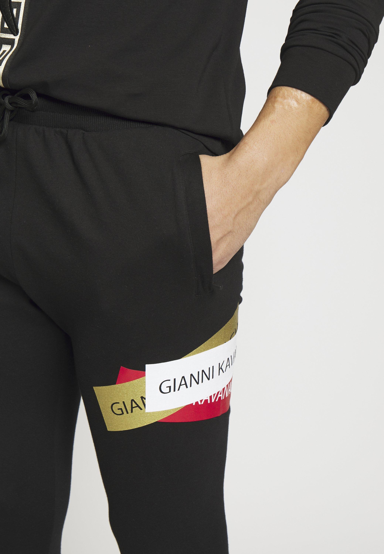 Gianni Kavanagh STICKERS JOGGERS - Spodnie treningowe - black