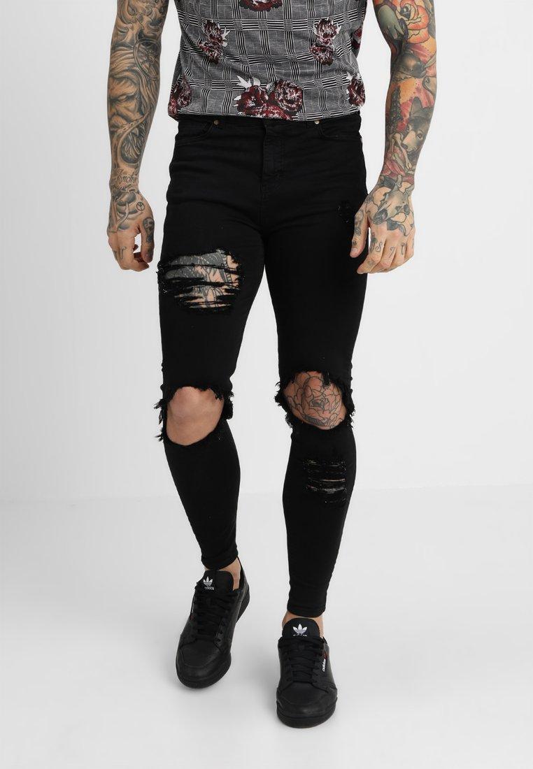 Kavanagh Gianni Kavanagh Black Gianni DistressedJeans Skinny TJcFl1K