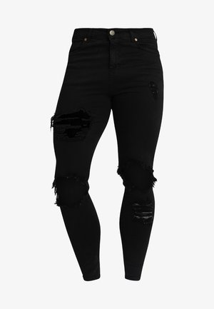 DISTRESSED - Jeans Skinny - black