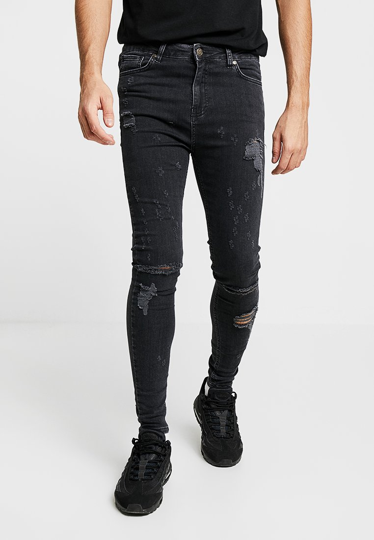 Gianni Kavanagh - DISPERSED ABRASIONS - Jeans Skinny - grey
