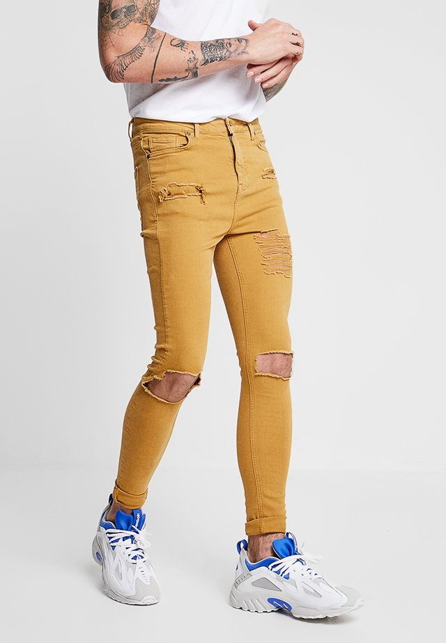 SUNFLOWER DESTROYED - Jeans Skinny Fit - yellow