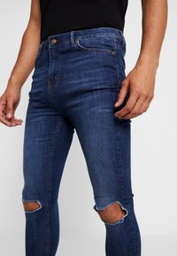 Gianni Kavanagh - RIPPED KNEES - Jeans Skinny - blue - 3