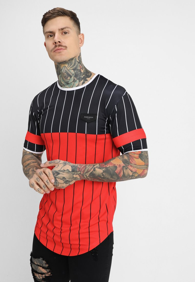 Gianni Kavanagh - AMERICAN FOOTBALL  - Print T-shirt - black/red