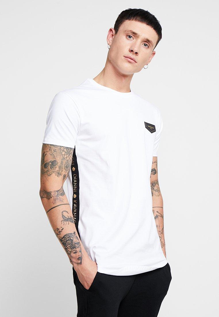 Gianni Kavanagh - TEE WITH RIBBON - Camiseta estampada - white