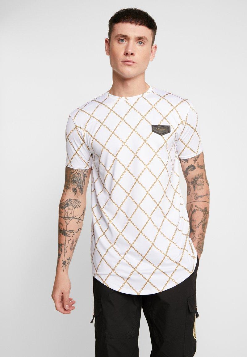 Gianni Kavanagh - CHAIN  - Print T-shirt - white