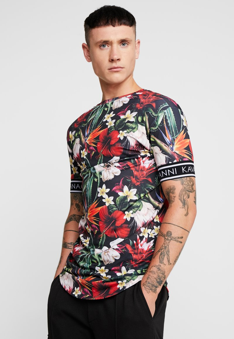 Gianni Kavanagh - TROPICAL SUMMER WITH ELASTIC - Print T-shirt - multicolor