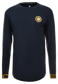 Gianni Kavanagh - NAVY GOLDEN CIRCLE LONG SLEEVE TEE - Pitkähihainen paita - navy - 0